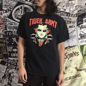 """Tiger Army """"Hurt For So Long"""" T-Shirt"""